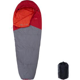 The North Face Aleutian 55/13 Sleeping Bag Regular Cardinal Red/Zinc Grey